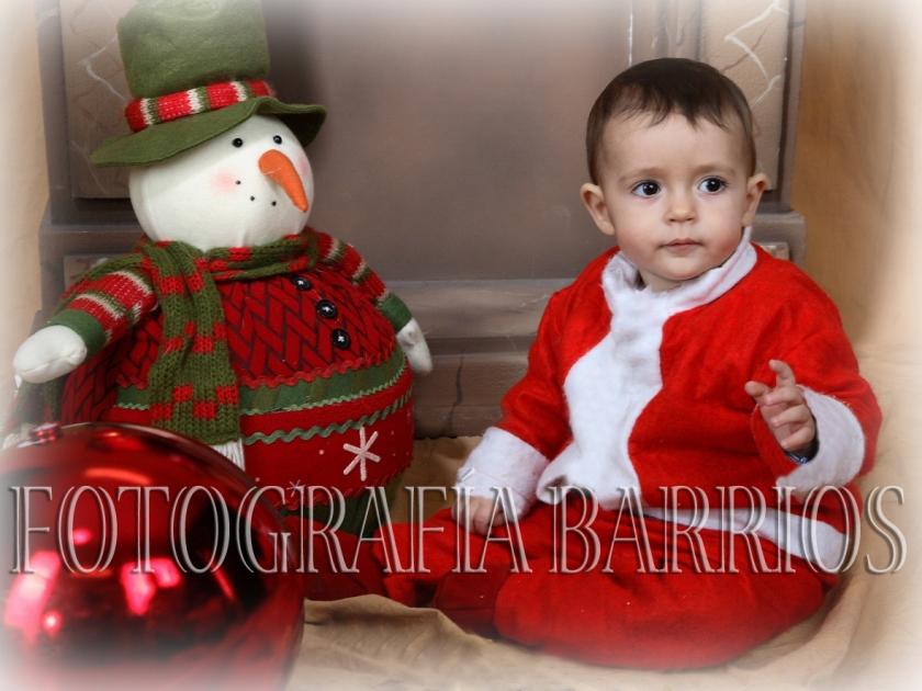reportaje fotos navidad niños