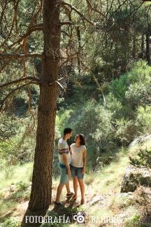 fotografía prenovios bosque