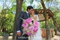 Reportaje de boda_parque novios