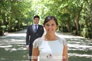Reportaje de boda_parque